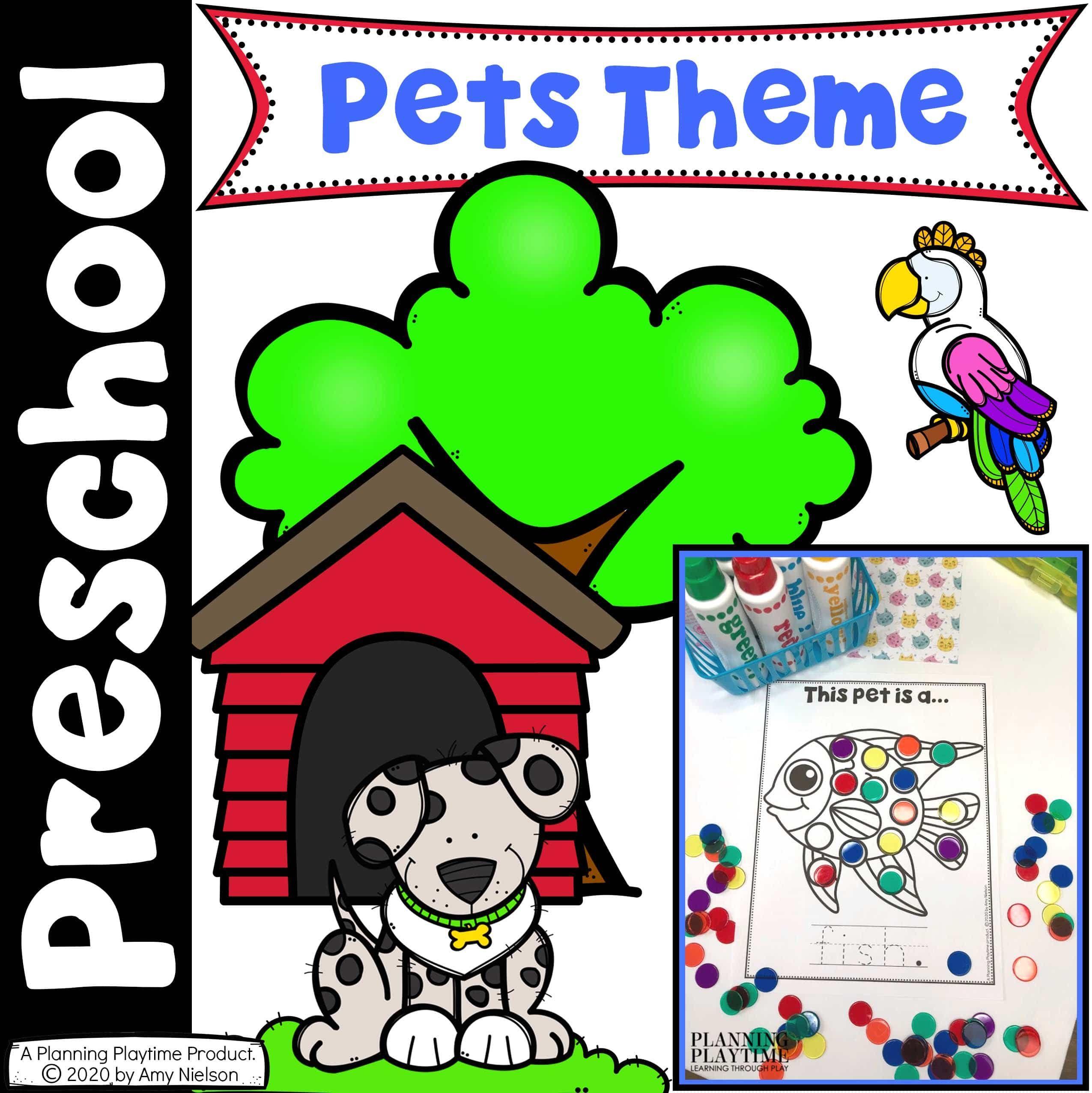 Pet Activities For Preschool In
