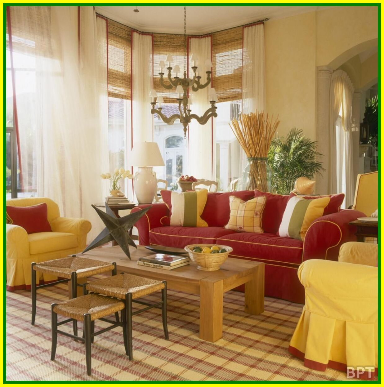 Pin On Things To Wear #yellow #sofa #living #room