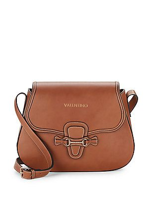 dbf0790ee54a Valentino by Mario Valentino Lucy Leather Crossbody Satchel - Bread ...