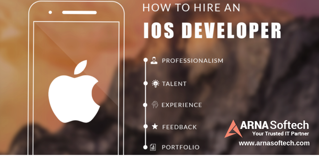 Hire dedicated iOS Developers from Arna Softech, for custom iPad
