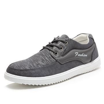 Tissu Hommes Lacer Chaussures Casual Sport gASol