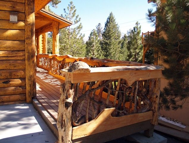 Rustic Mountian Stair Railings: Pin By Rebecca McIntyre On Rustic Home Ideas