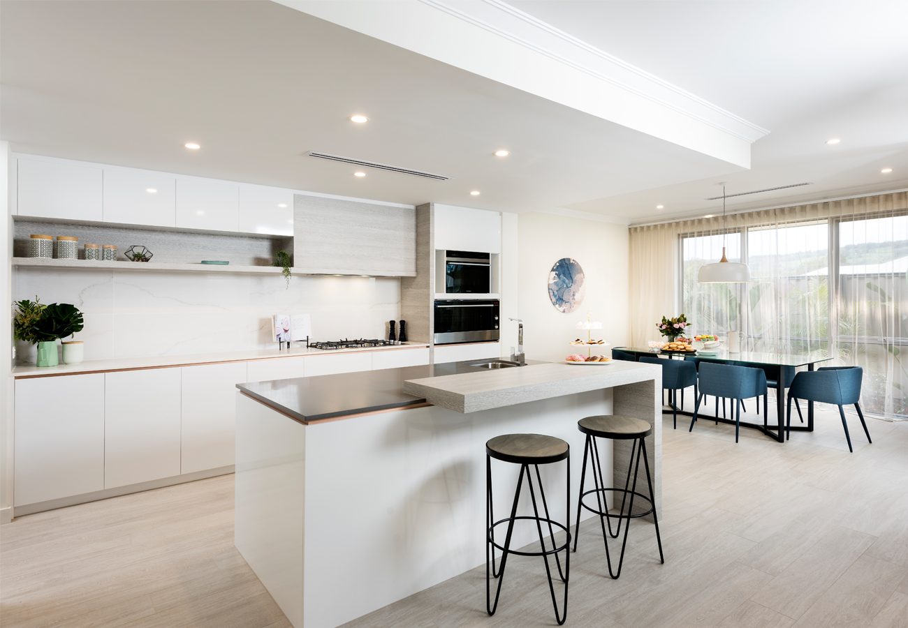 Home Builders Australia | Kitchen | Dining | Display Home | New ...