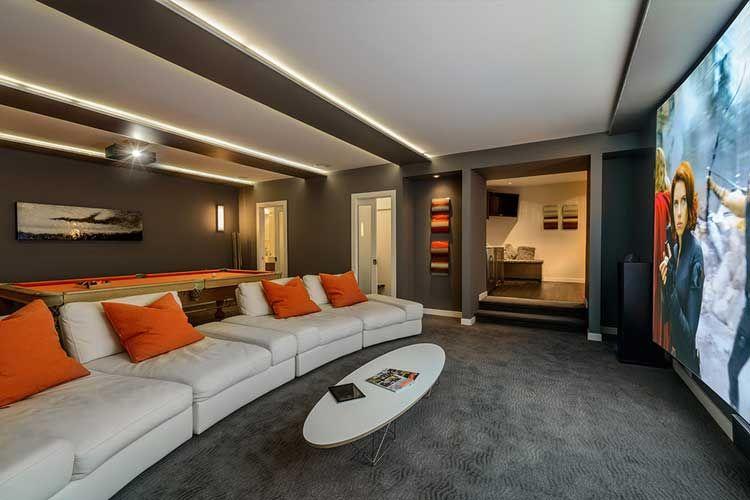 ideas para decorar una sala de billar en casa