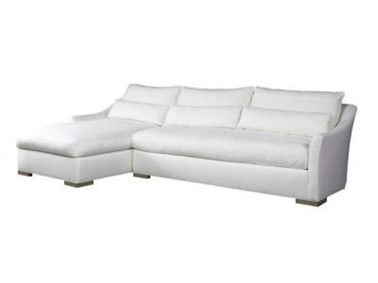 Lillian August By Hickory White Winston 2 Piece Sectional La9105lh La9105rs Hickory White Sectional Fine Furnishings