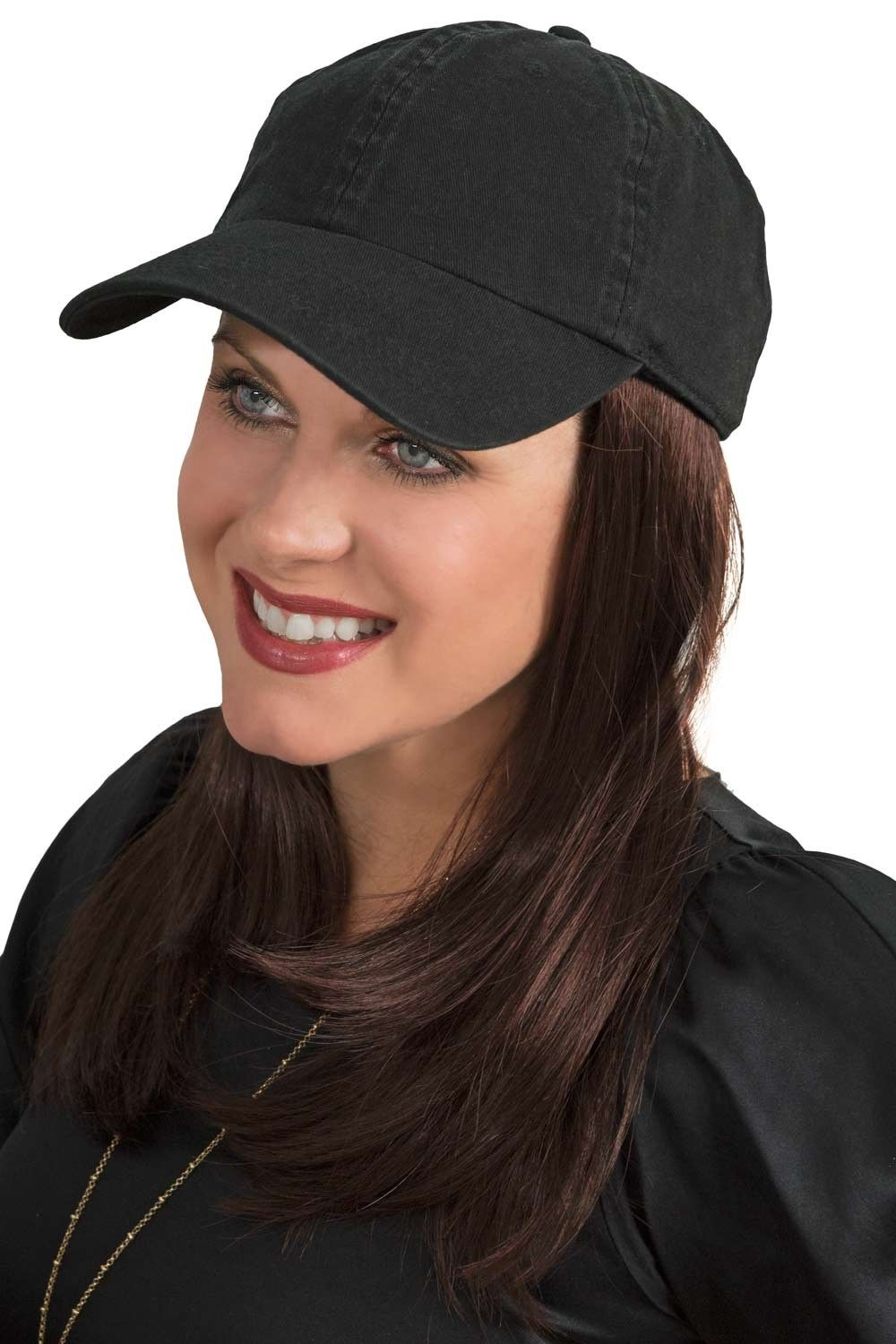Cardani Long Baseball Cap With Hair Hats With Hair Hat Hairstyles Hair Synthetic Hair