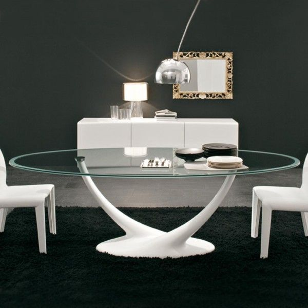 Tavolo coral cattelan italia casa glass dining table glass round dining table e ikea for Tavoli ovali ikea