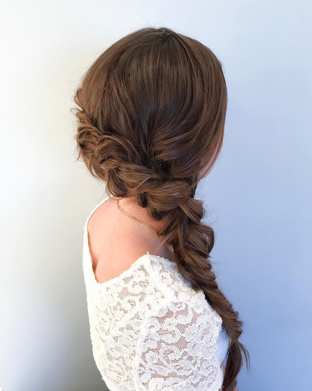 A Side Plait With Plenty Of Romance Alliedoeshair Side Plait Hairstyles Braided Hairstyles For Wedding Plaits Hairstyles