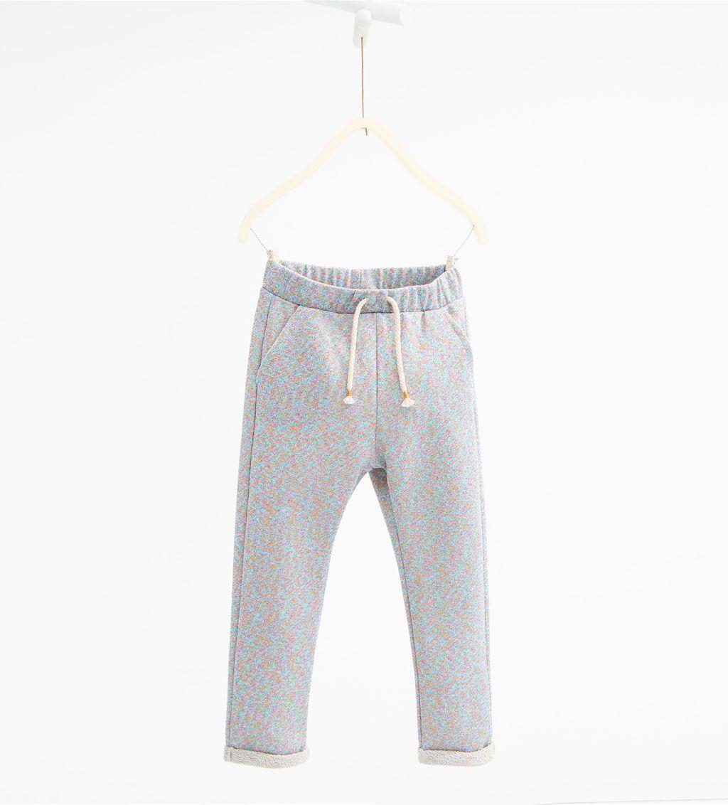 Pantaloni brillantini multicolori