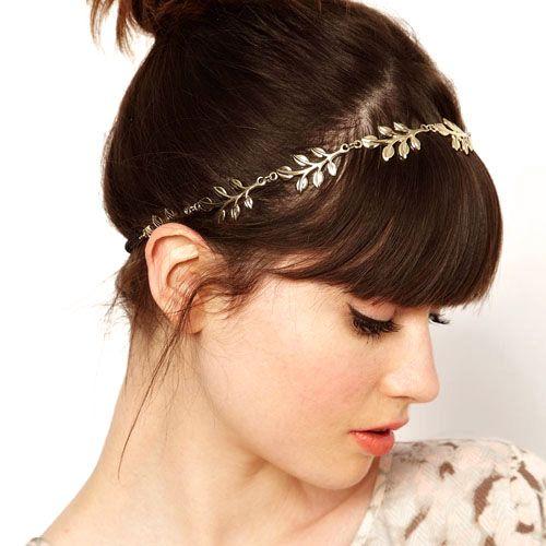 Chains Elegant New Elastic Headband Hair Accessories Head wear Hair Jewelry
