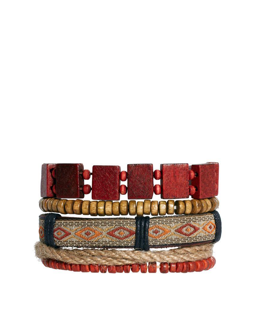 River Island Bead Bracelet Pack