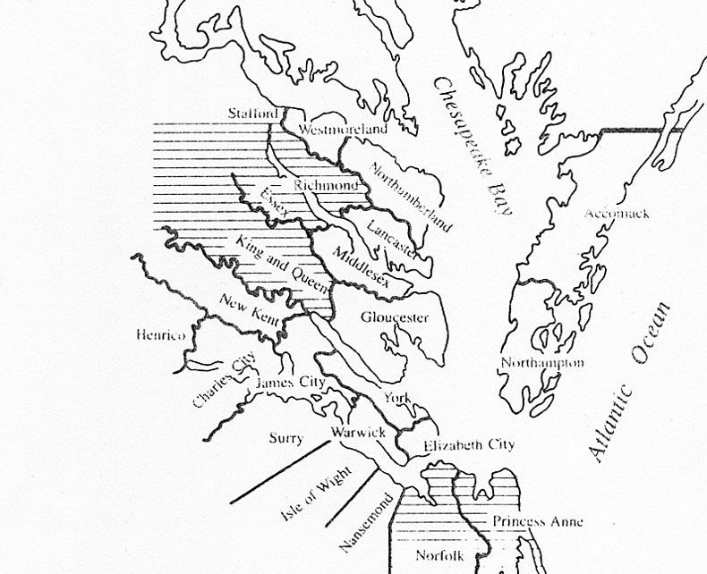 Virginia Map How Virginia Counties Were Added Virginia - Map of virginia counties