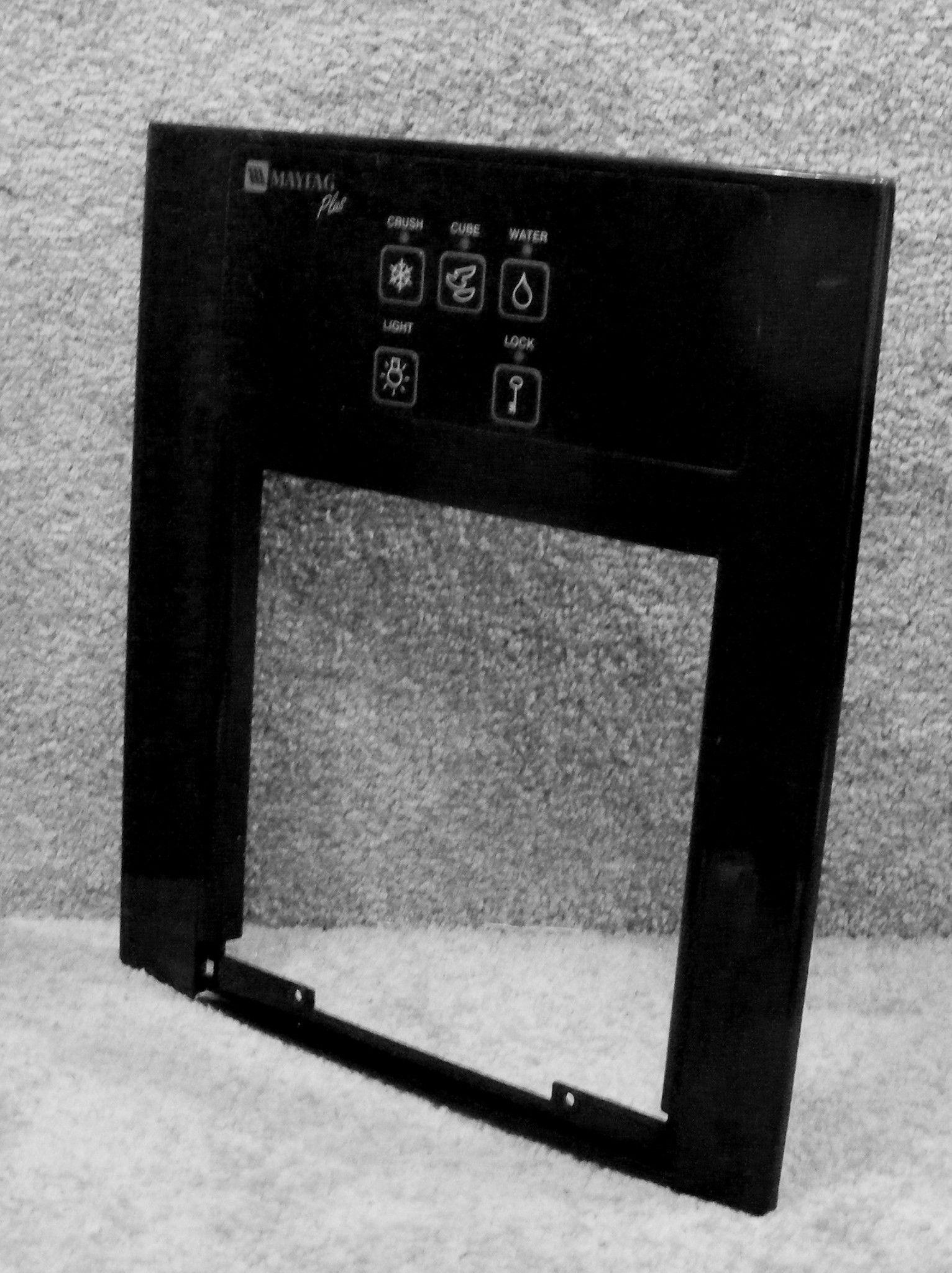 61003887 61003421 Maytag Refrigerator Black Escutcheon