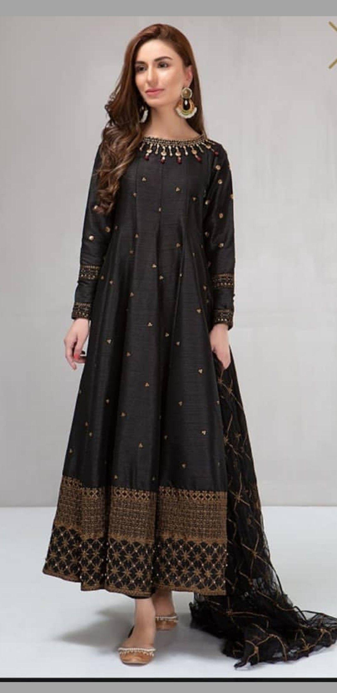 Pin by Maryum on Casual pakistani wear   Anarkali dress