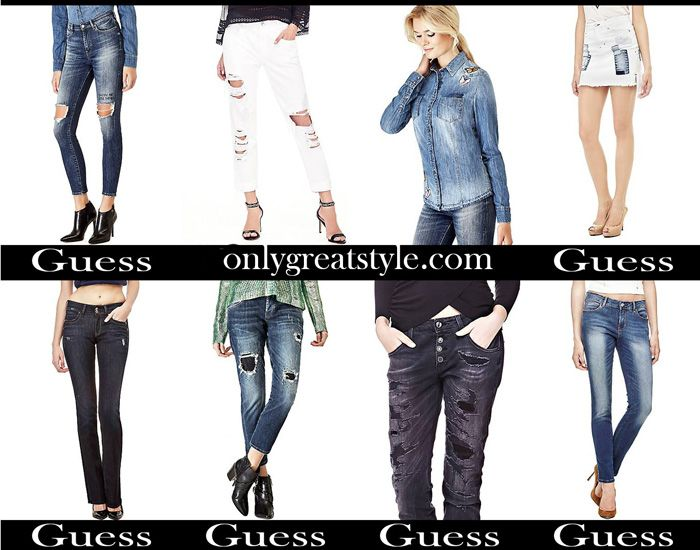 super popular 42ffe 67bd8 Denim Guess fall winter 2017 2018 women jeans | Apparel For ...