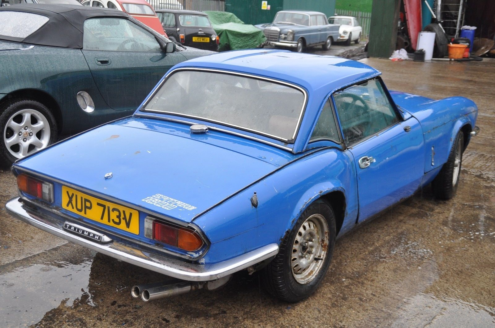 1980 triumph spitfire 1500 cheap project car | Triumph spitfire ...