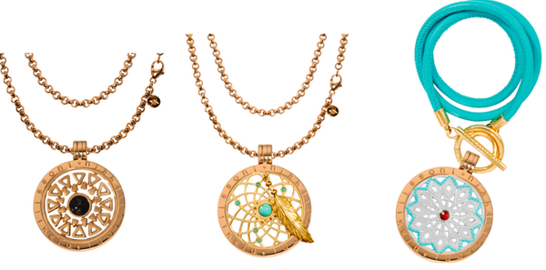 """Marina Colom: """"Love at first sight with these pendants from @Nikki_LissoniUK. They are gorgeous and perfect for summer."""" -xx-"""
