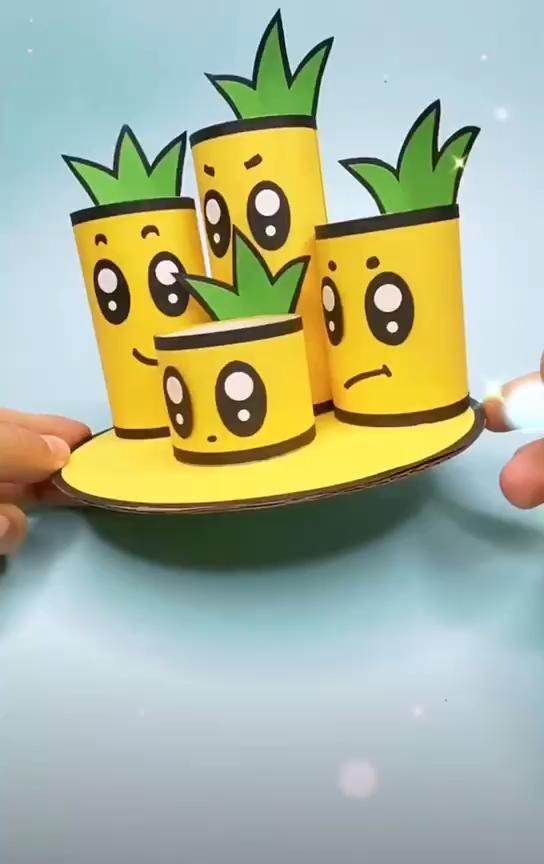 Toilet Paper Roll Crafts Pencil Holder Organizer Video In 2020 Paper Crafts Diy Kids Paper Crafts Diy Tutorials Paper Roll Crafts