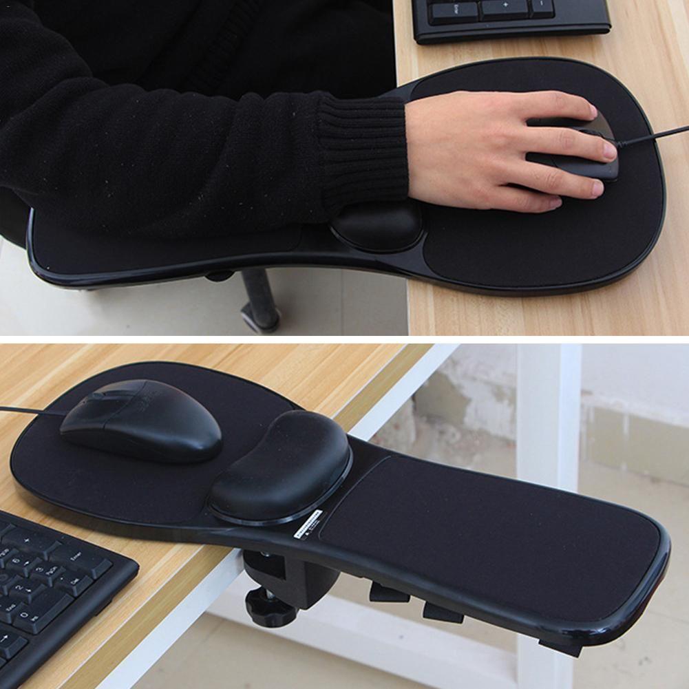 Creative desk and chair computer hand arm bracket wrist
