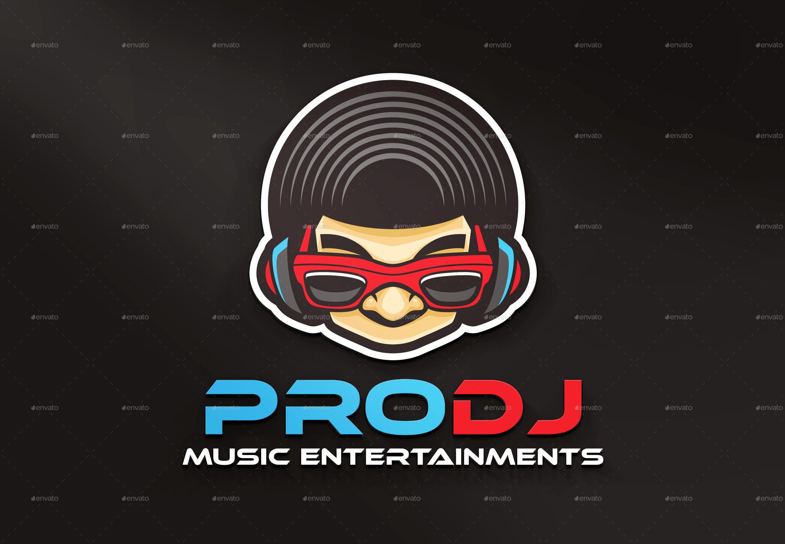 Pro Dj Logo Affiliate Pro Affiliate Dj Logo Dj Logo Graphic Design Logo Portfolio Logo