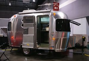 Tiny Camping Trailers small travel trailers from toronto rv show offering comfort and style 1000 Images About Campers On Pinterest Airstream Travel Trailers And Trailers
