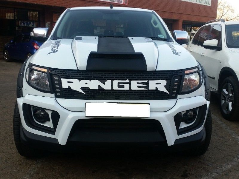 Mtba Ford Ranger T6 Ranger Grills Side Leds Lettering Black