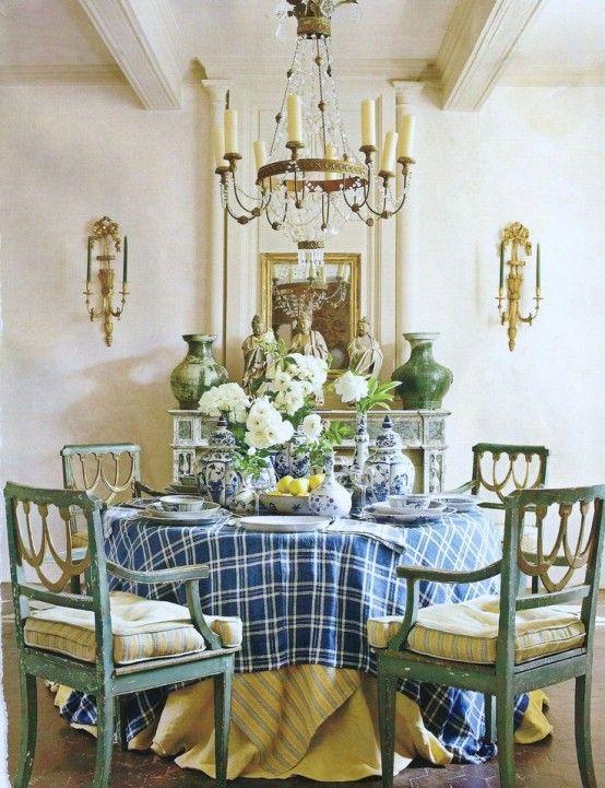 Sala da pranzo provenzale: 29 idee stile provenzale   Nice Dining ...