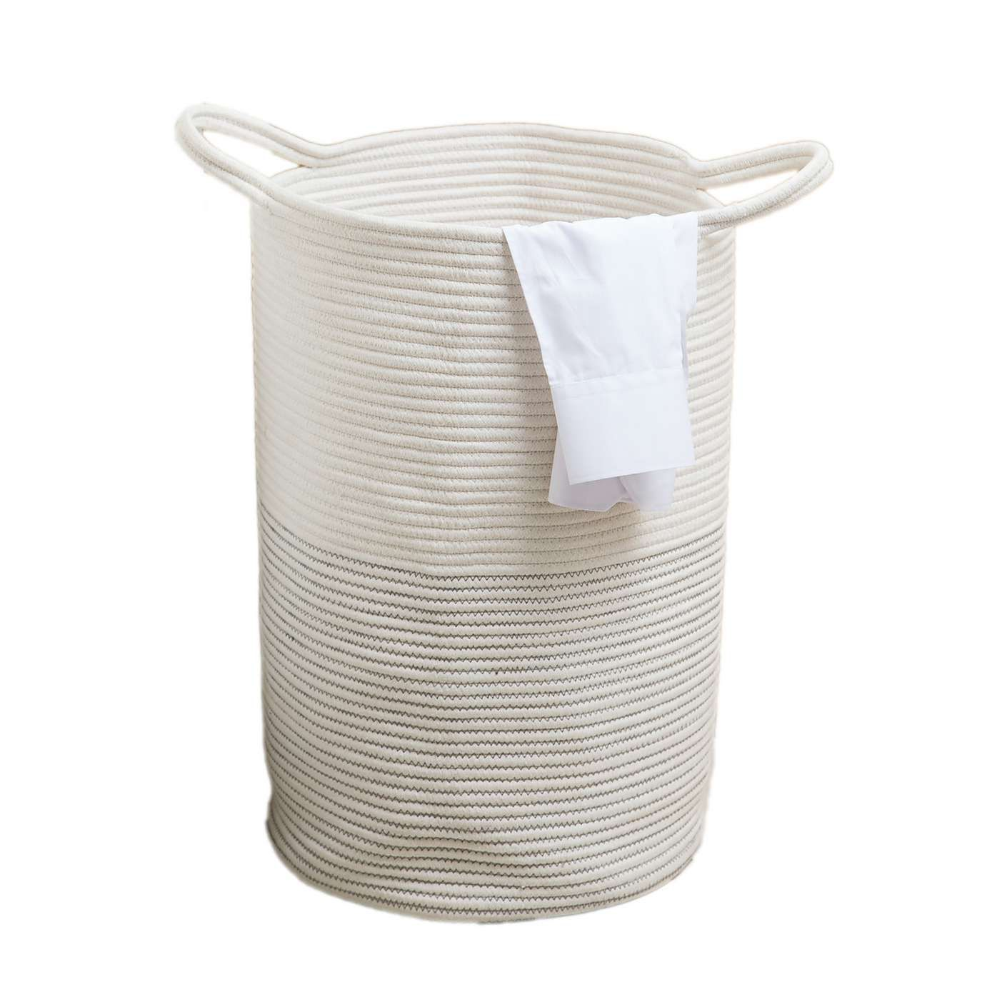 Laundry Bags With Handles Simple Dunelm Rope White Cotton Large Laundry Bag  Laundry White Laundry Decorating Design