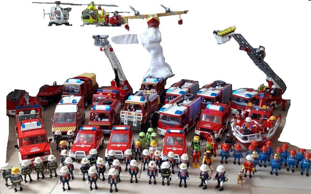 Playmobil pompier playmobil pompier pinterest - Playmobil de pompier ...