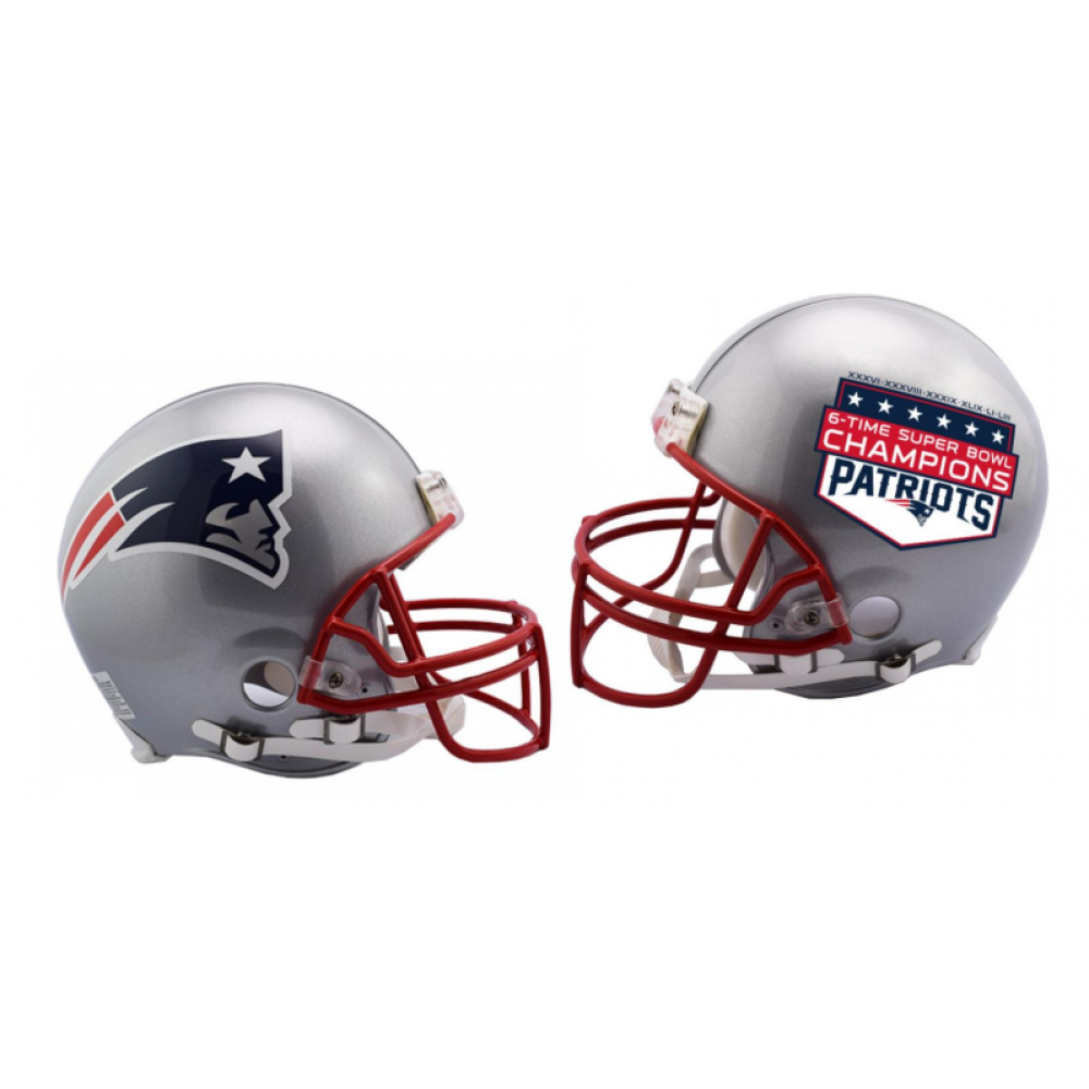 Pre Order Now Limited Production Riddell Newenglandpatriots 6 Time Super Bowl Champions Vsr4 Helmets Made In Full Size Au Super Bowl Football Helmets Super