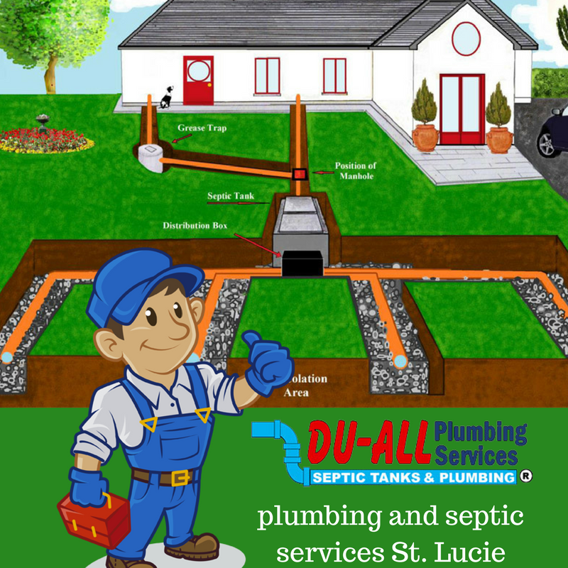 Du All Plumbers offers a full line of septic tank service