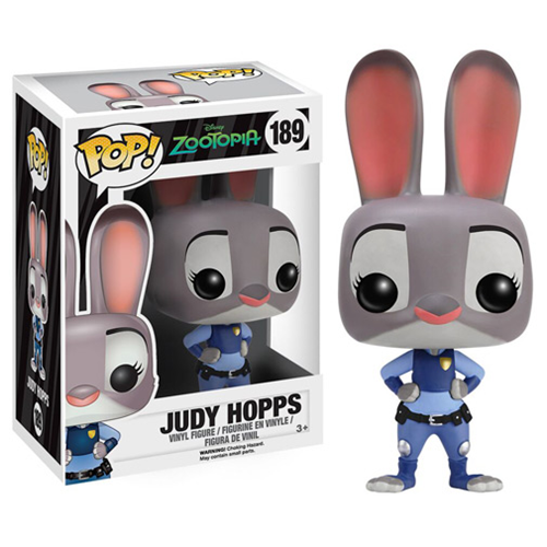 Zootopia Judy Hopps Pop Vinyl Figure Collect Em For