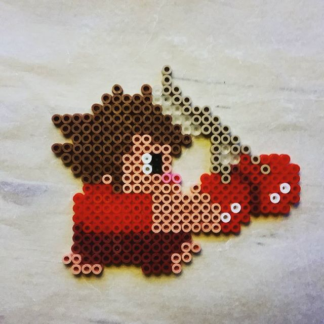 Wreck-it Ralph perler beabds by obm88