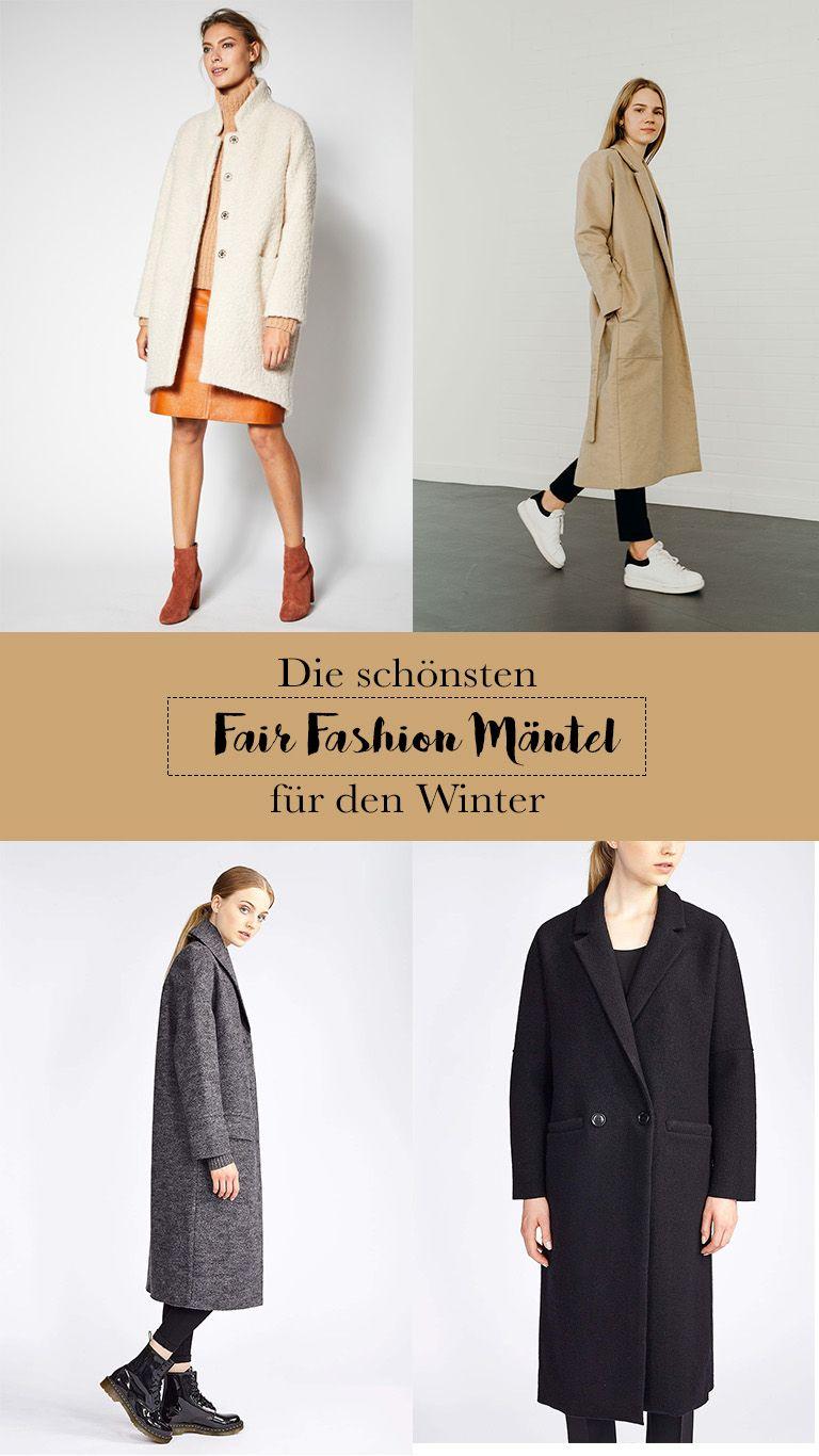 Schönsten Mäntel Fair Fashion Die Den Für WinterVegan dCeoxBWr