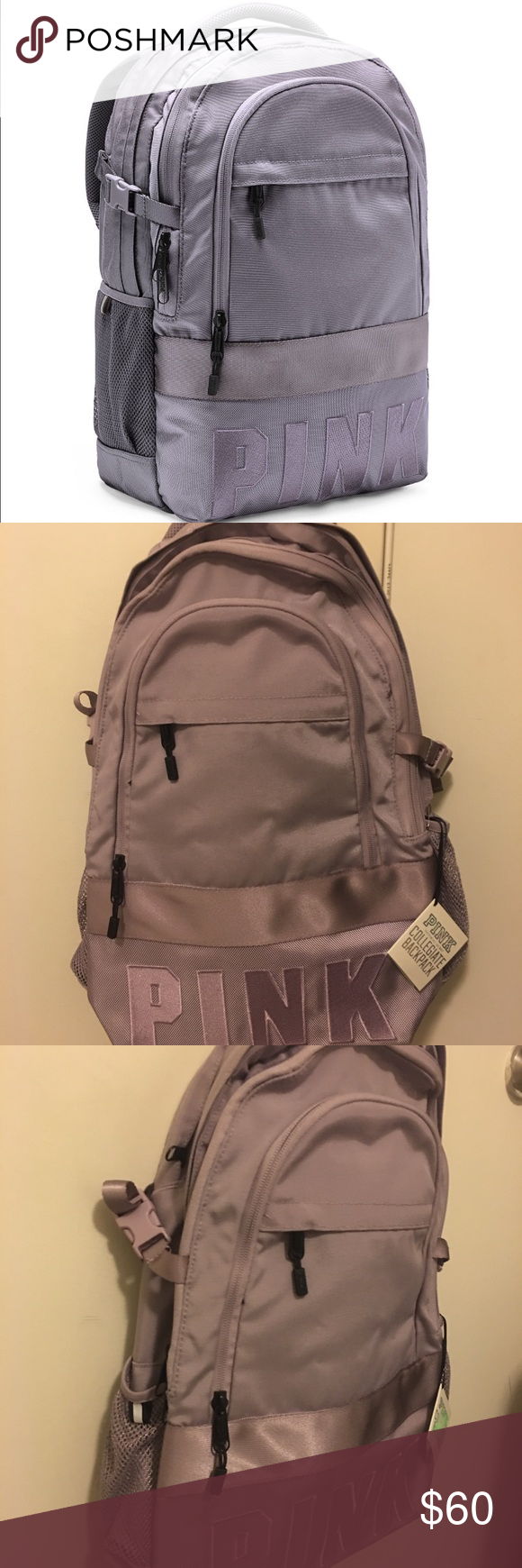 New VICTORIA SECRET PINK Campus Backpack Mini Backpack Collegiate Backpack