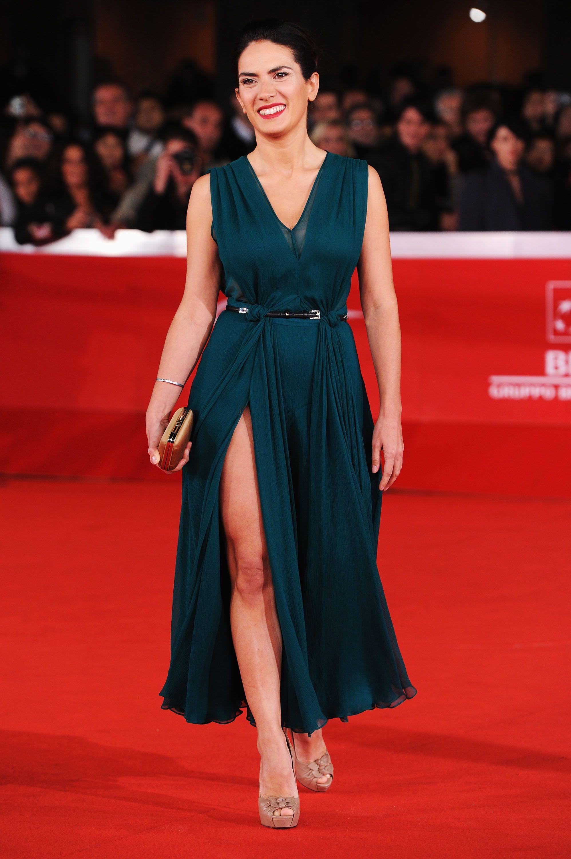 Maya Sansa in Gucci at Rome Film Festival # ...