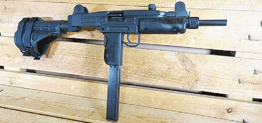 Uzi with stabilizing pistol brace | Pistol Brace | Guns, Tac