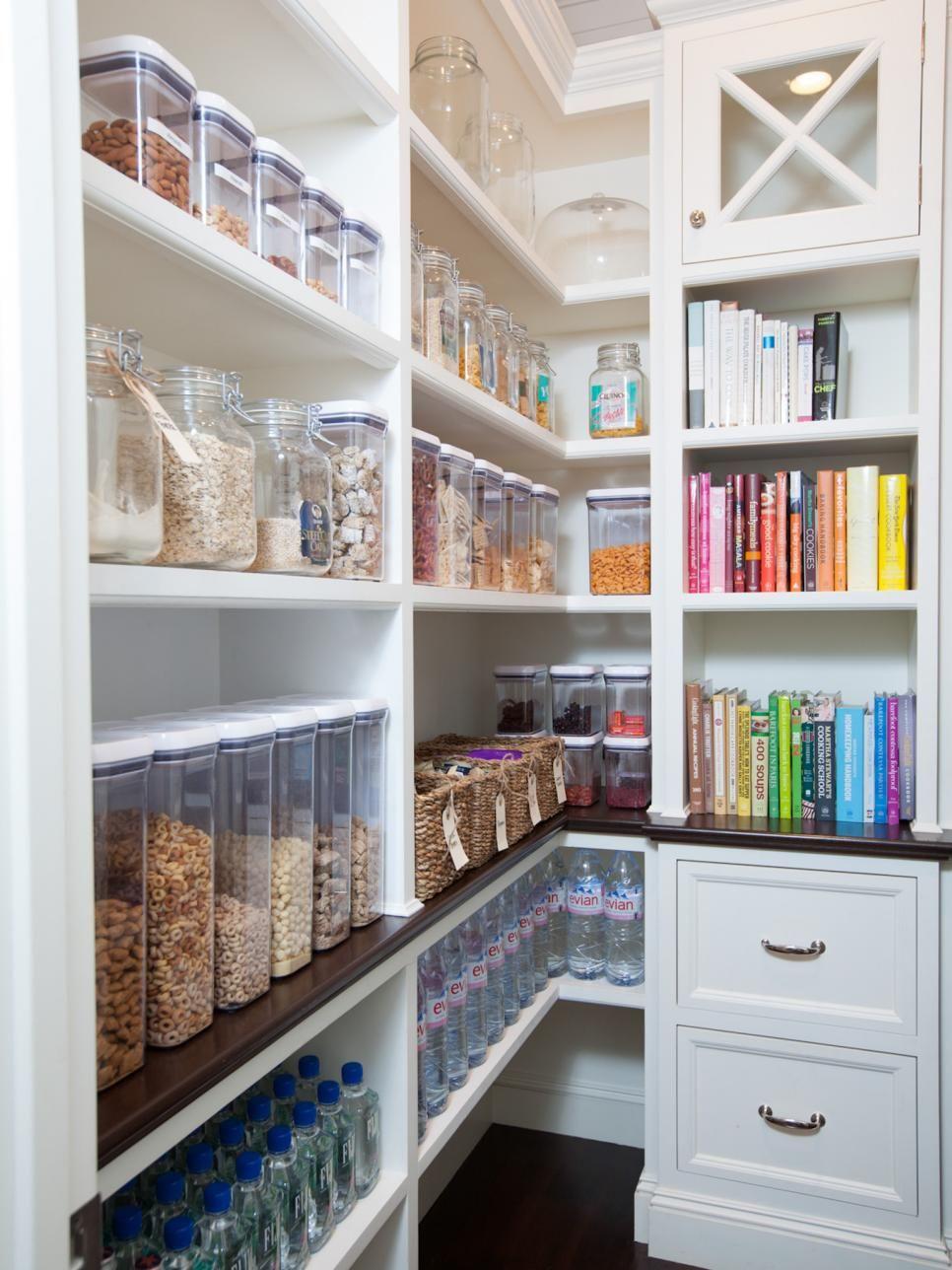 16 Small Pantry Organization Ideas | Stay fresh, Larder and ...