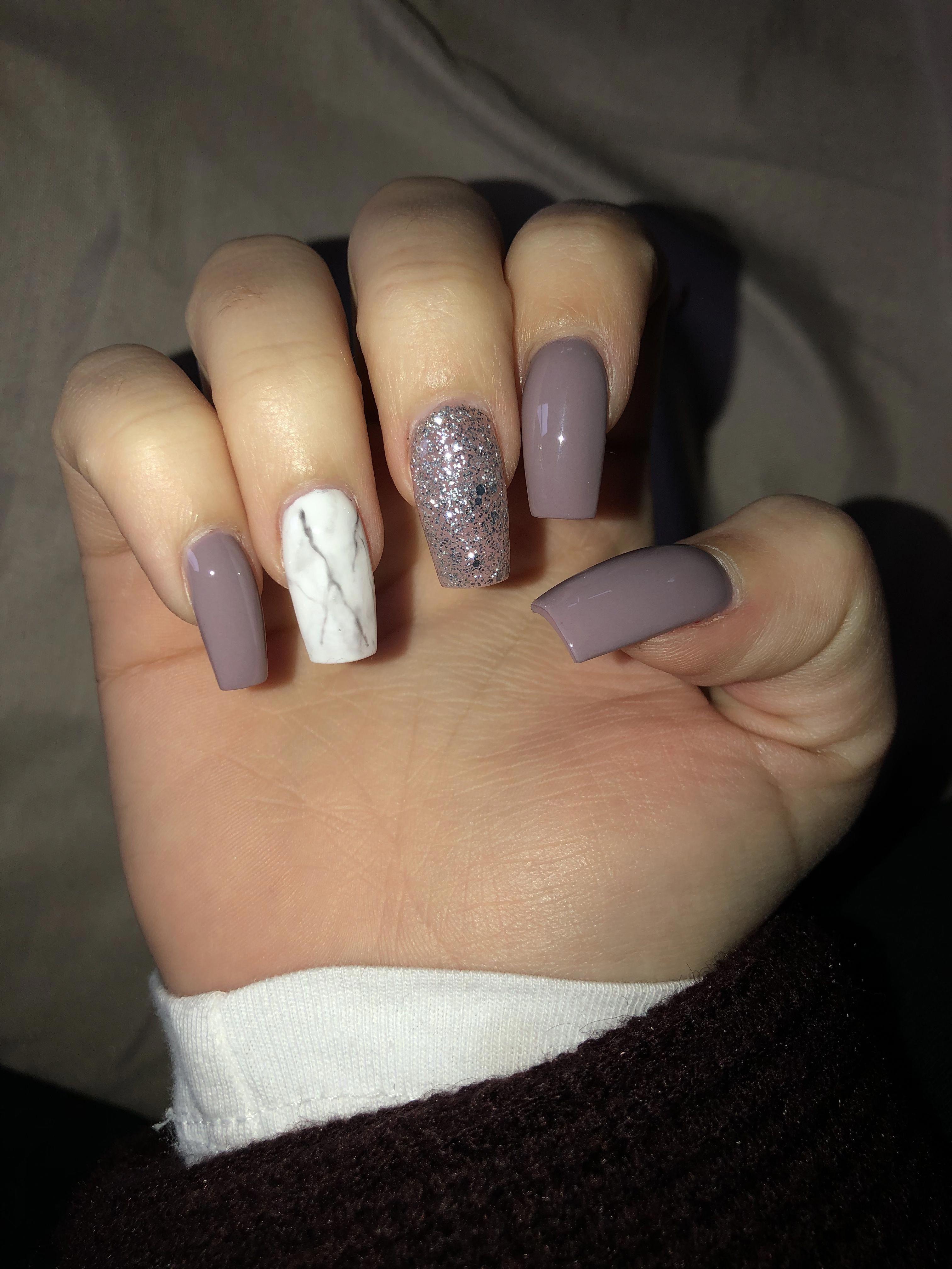 perfect10 nails acrylic gel pretty fall marblenails