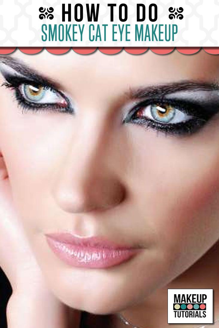 Makeup Tutorials   Smokey Cat Eye Makeup