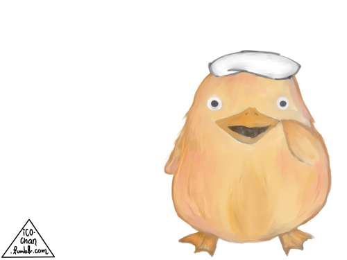 I Drew The Duck Spirit From Spirited Away For A Friend Drawings Studio Ghibli Character