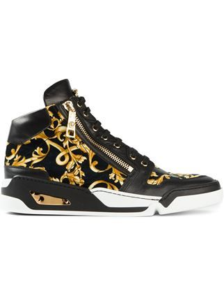 f11461ee2156 Versace Baroque Hi-top Trainers - - Farfetch.com