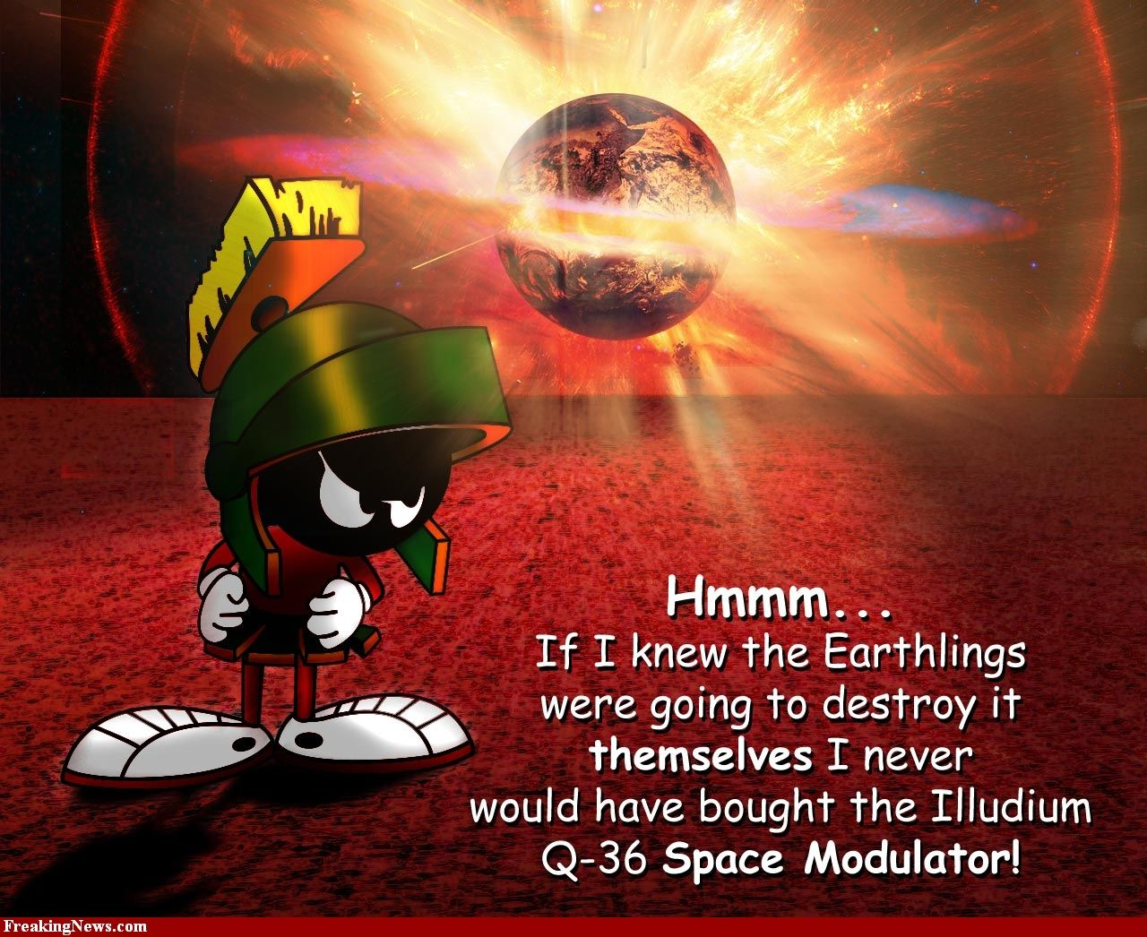 More Marvin the Martian Quotes and Info at marvin-martian ...