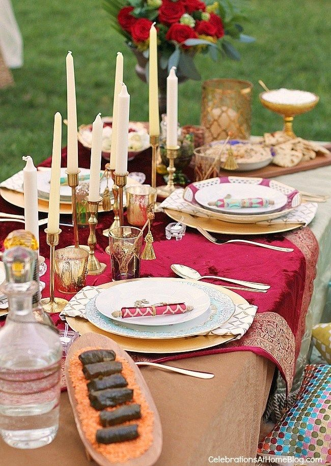 Moroccan Inspired Party & moroccan table settings decor u2013 Loris Decoration