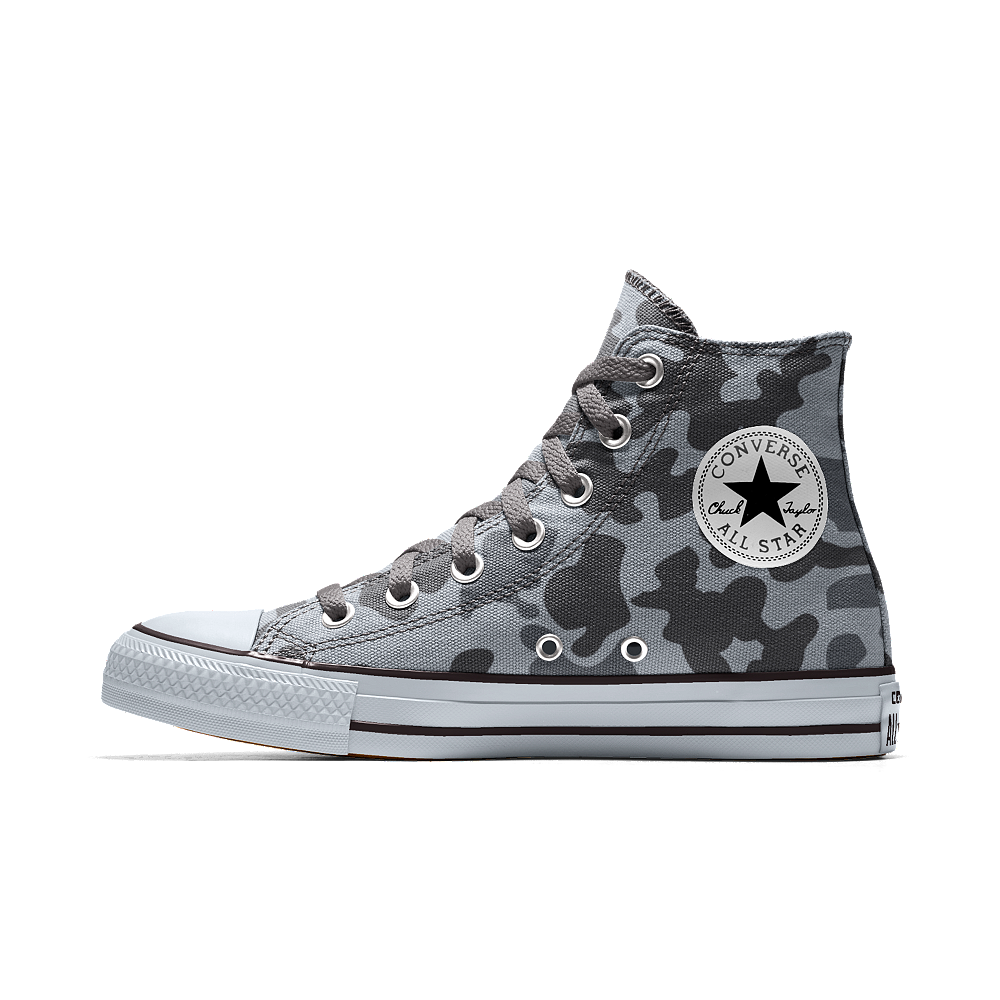 c795b054794 Converse Custom Chuck Taylor All Star High Top Shoe Size 14 (Grey ...
