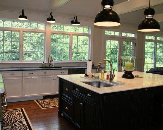 kitchen no upper cabinets design pictures remodel decor and ideas rh pinterest com
