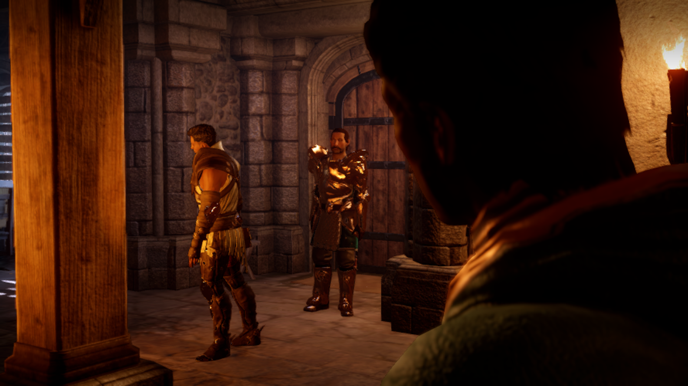 Meeting Dorian's father for the first time ... no, not for THAT reason #DragonAgeInquisition