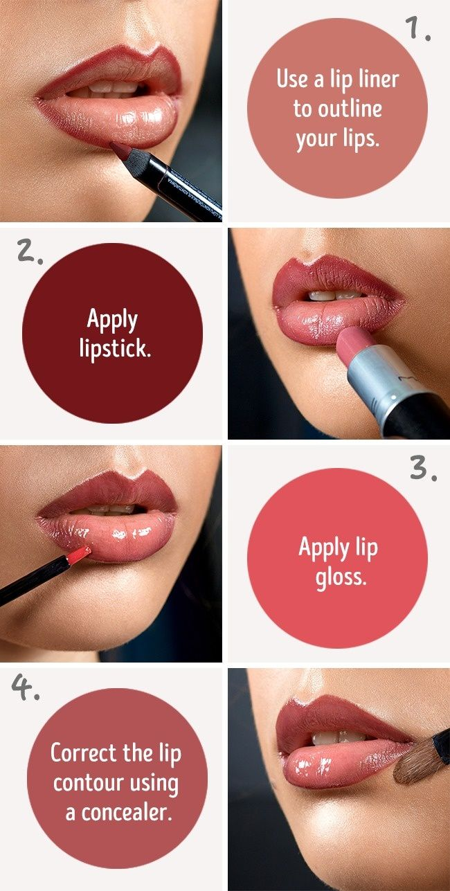 Six Simple Tricks That Will Make Your Lips Look Fuller Red Lip
