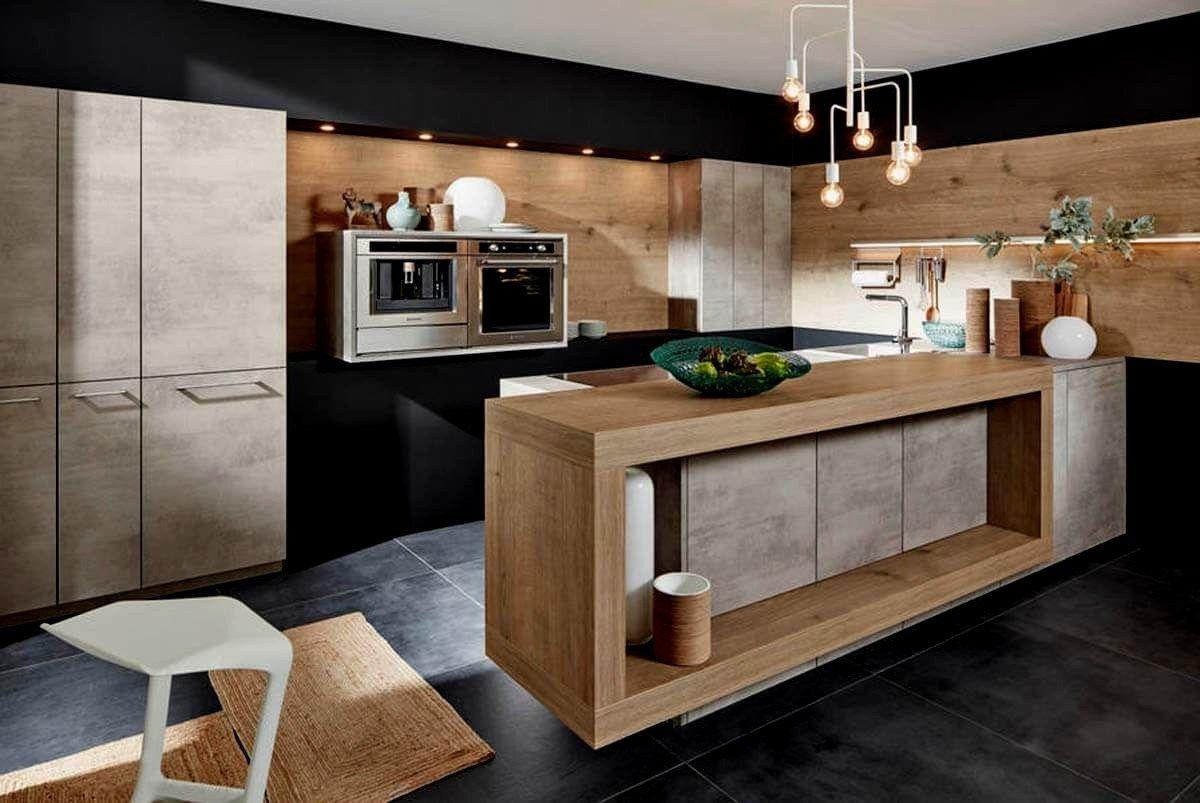 Kleine Kücheninsel Auf Rädern Rustikale Küche Insel