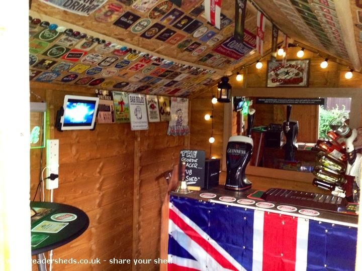 Pub Entertainment From Goody S Garden Raf Leeming Owned By Paul Goodfellow Shedoftheyear Pub Sheds Shed Of The Year Shed
